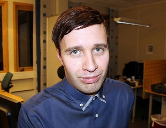 Redaktør Arne Reginiussen i Finnmark Dagblad.