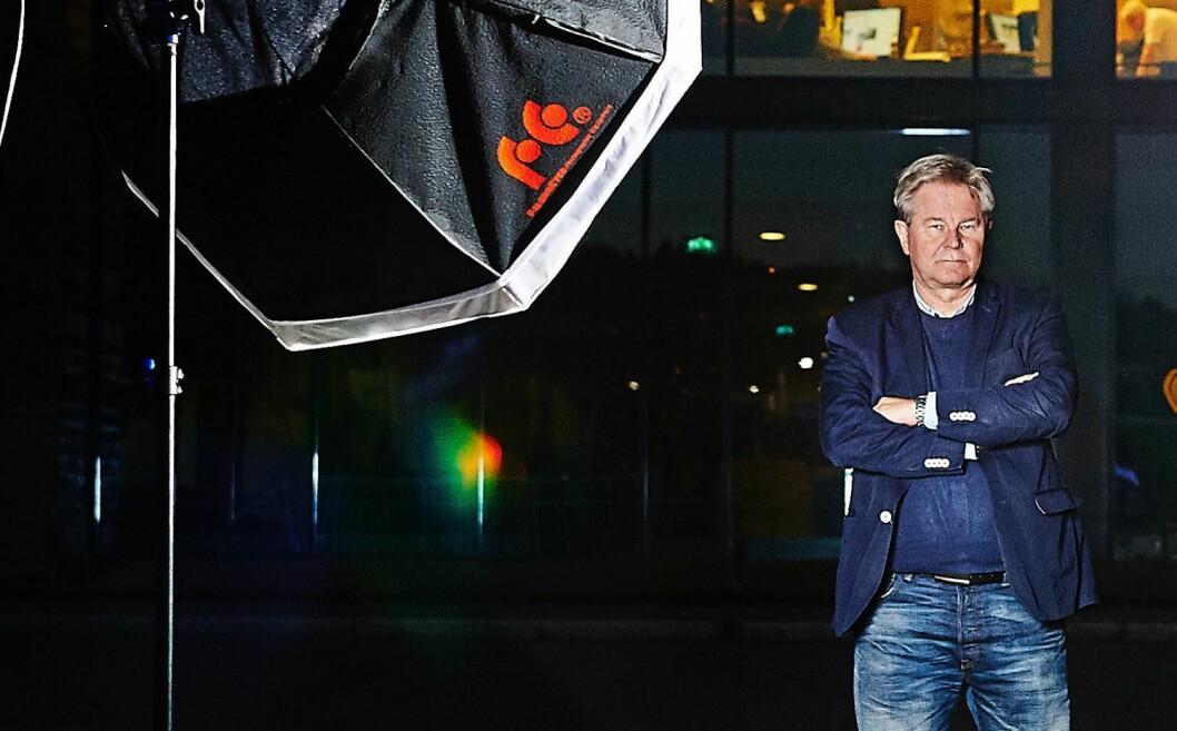 Administrerende direktør Arve Løberg i konsernet Trønder-Avisa som eier de fleste avisene i Nord-Trøndelag.