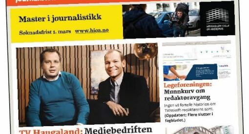 Fagbladet Journalisten gikk med 4,5 millioner i underskudd i 2014