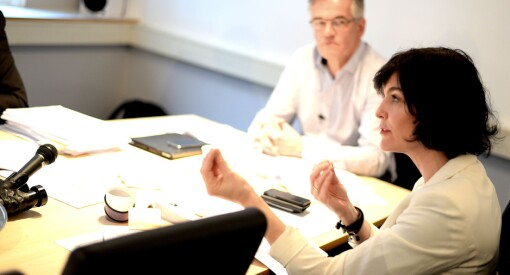 Kjersti Løken Stavrum har fått fast plass i Tinius-styret. Umulig dobbeltrolle, mener kritikerne