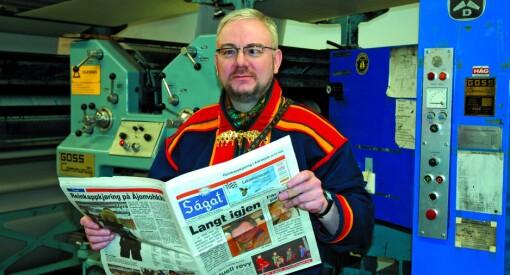 Nok en avis gir opp lørdagen: Ságat flytter helgeavisa til fredag - og begynner med mandagsavis