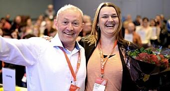 Hege Iren Frantzen utfordrer Thomas Spence - nå kan det bli lederkamp i Norsk Journalistlag