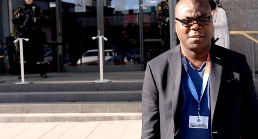 Rodney ble dømt til 5000 års fengsel fordi han bedrev kritisk journalistikk, i et Liberia som styres av en fredsprisvinner