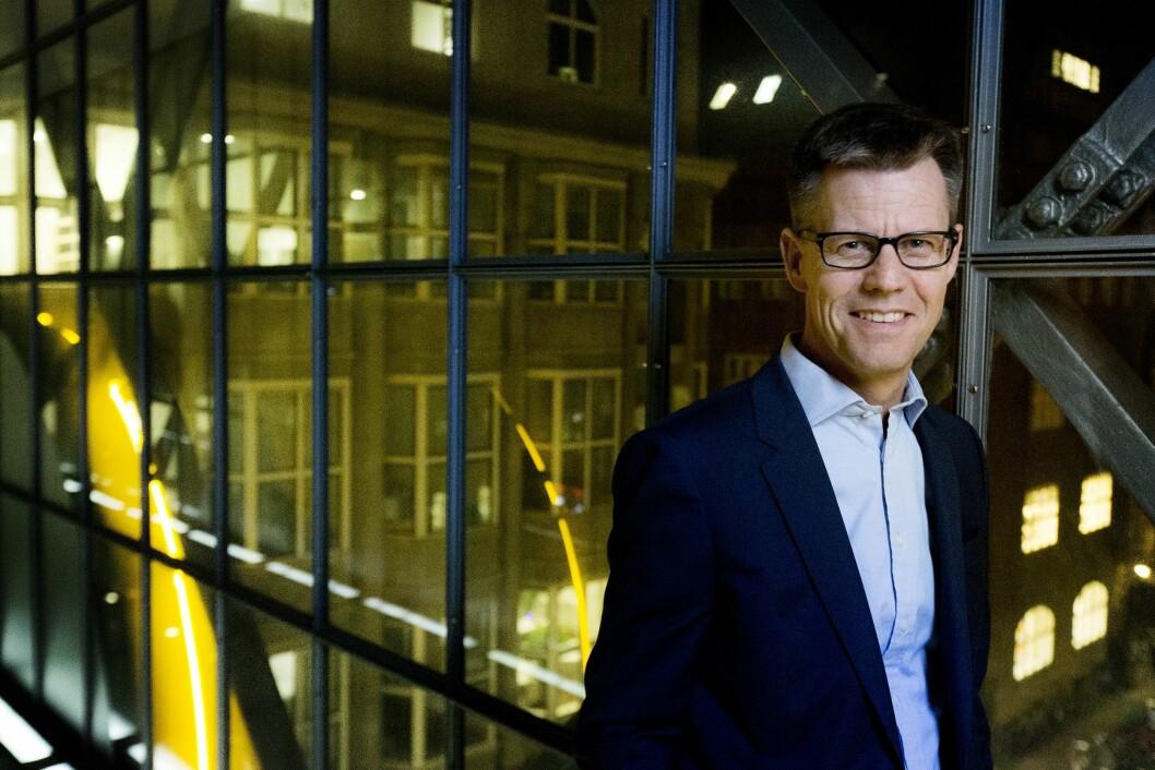Steffen Kragh, konsernsjef i det danskeide Egmont-konsernet.