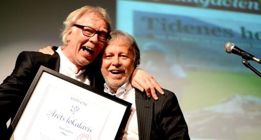 Super-kveld for Hallingdølen: Fikk både hedersprisen og ble «Årets lokalavis»!