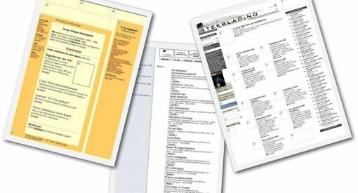 Denne uka fylte Teknisk Ukeblad 20 år på nett. De første utgavene var ikke særlig responsive...