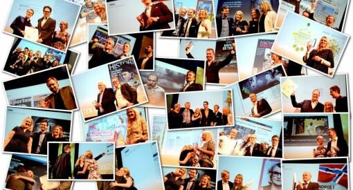 MEDIEPRISENE: Her er bilder av alle kveldens prisvinnerne!