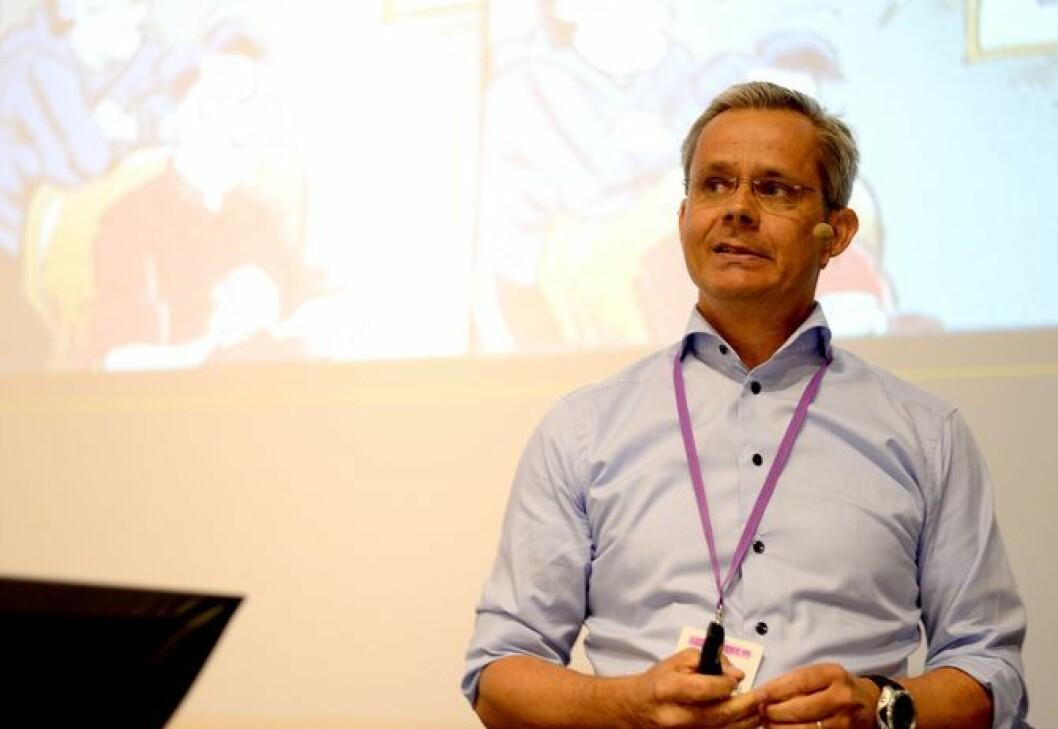 Espen Asheim, administererende direktør i Egmont Publishing.