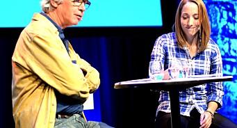 Med 600 journalister i salen, slaktet hun vår evne til digitalt kildevern. - Det går ikke an å tipse dere sikkert