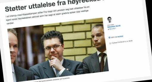 PFU: Er det greit å kalle Pegida-aktivist Ronny Alte for «høyreekstrem»?