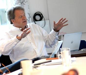 Styreleder Jan M. Moberg i Fagpressen trakkseg for å unngå å havne i habilitetsskvis.