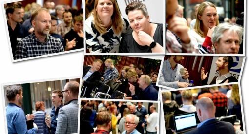 BILDESERIE: Her er «Netthodene» på årets NONA-konferanse