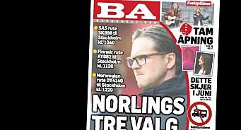 Gratulerer til BA med årets beste tabloid-forside. Og kondolerer til alle hårsåre og andregradskrenkede lesere