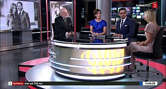 TV 2 Nyhetskanalen satte ny rekord i helga: Over 700.000 så på det svenske prinsebryllupet