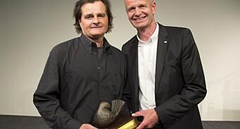 Harald Henden fikk Røde Kors-prisen for sin «formidling av krigens lidelser»
