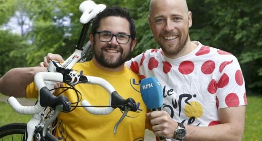 Tour de France for deg som er på jobb: NRK Sport sender sykkelrittet på radio