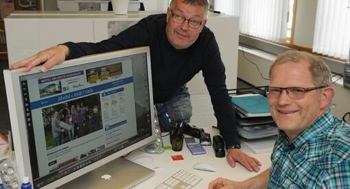 Erlend blir journalist midt i væla og satser på lokal nettavis