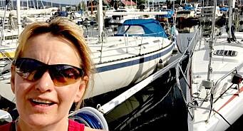 Randi har satt seil og følger vinden, mens hun drømmer om at Widvey & co leverer