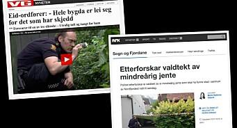 Lokalavisredaktør kritiserer VG og NRK for å hause opp voldtekt som ikke var voldtekt