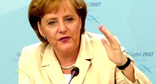 - Det er absurd og vanskelig å tro at Angela Merkel har gitt etter for Tyrkias president