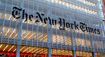 Amerikanske medier melder om rekordsalg etter valget. New York Times har flere ganger solgt 10.000 abonnement på én dag