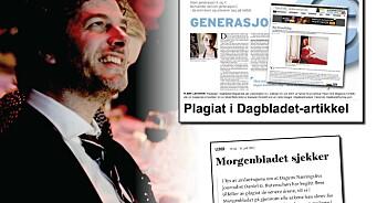Dagbladet fant plagiat i Butenschøn-artikkel. Morgenbladet og DN varsler også mer