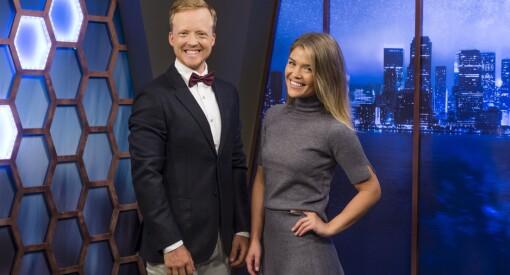 Thomas og Gine overtar som programledere for Eurojackpot på TV 2