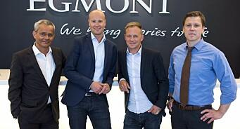 Egmont kjøper seg opp i content marketing-byråer. Satser mot 100 millioner i omsetning om to år