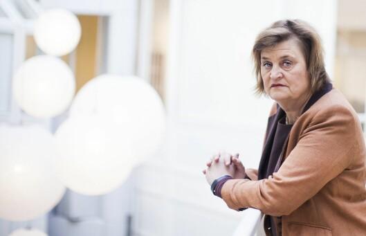 Elin Ørjasæter - som nå vil trekke seg fra Kringkastingsrådet.