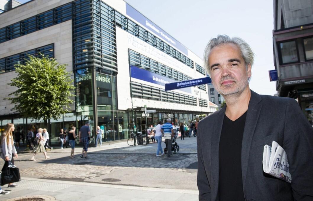 Eivind Ljøstad, sjefredaktør i Fædrelandsvennen.