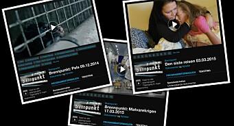 Tre PFU-klager for NRK Brennpunkt tirsdag: Pels, assistert selvmord og matvarekrig