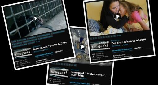 PFU mener det er greit at NRK lar dyreverns-aktivister lager kritiske dokumentarer