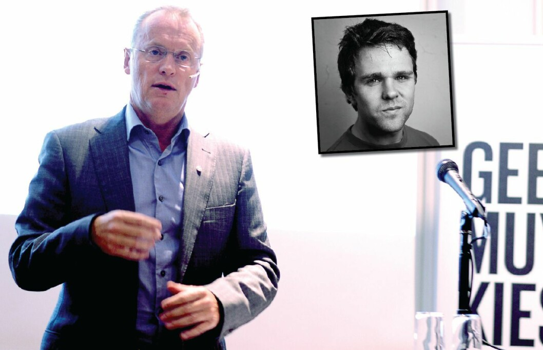 RAYMOND JOHANSEN, byrådsleder i Oslo, Innfelt: Journalist Vegard Venli i Dagbladet.