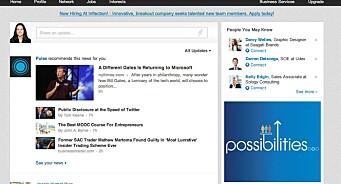 Svakere utsikter sender LinkedIn til bunns: Aksjen falt med 26 prosent