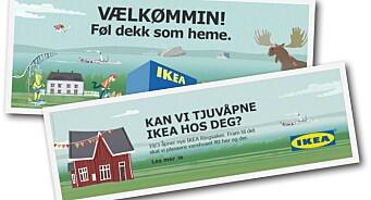 Seier til SMFB i Tett På: IKEA-reklame på dialekt vant Amedias reklamepris