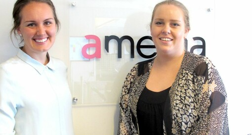 Amedia Marked har fått to nye hoder med på laget