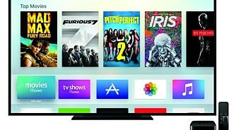 Apple TV med nytt OS for apper og spill. Eller hva med en gigantisk iPad i fanget?