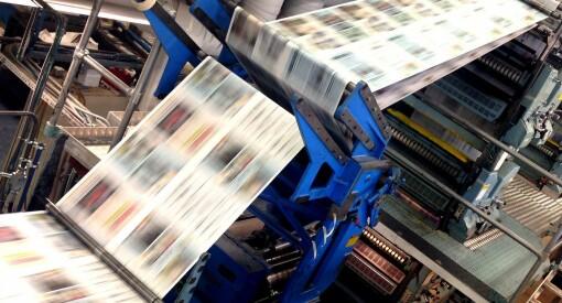 Amedia stanser nok ei trykkpresse: Legger ned i Mosjøen - Helgelendingen må flytte trykkingen over 30 mil til Bodø