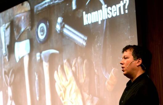 Øyvind Solstad på en konferanse for noen år siden.