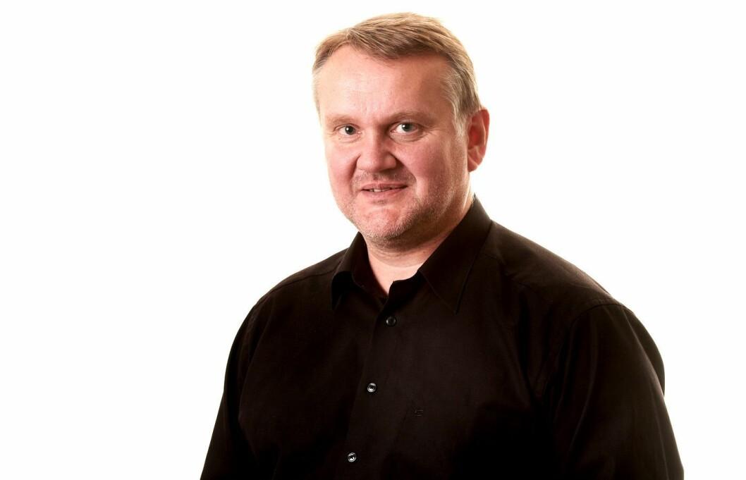 Sjefredaktør John Arne Moen i Trønder-Avisa.