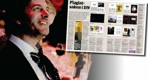 DN har funnet 40 saker med juks eller plagiat. Djuve beklager over to sider