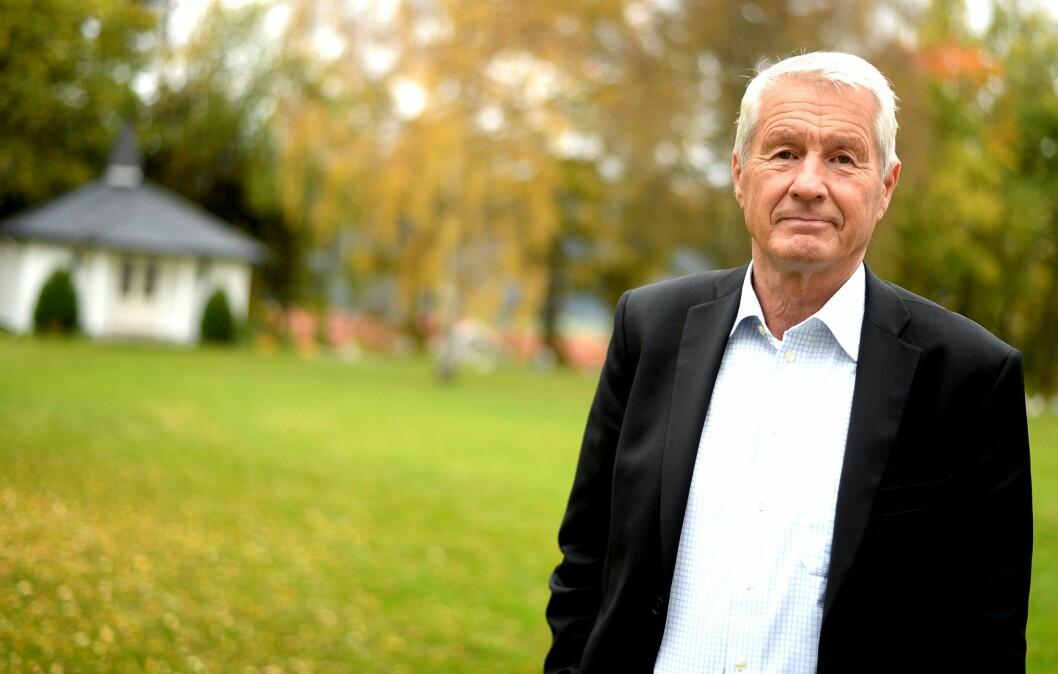 Thorbjørn Jagland mistenker norsk presse for «direkte intervensjon» i valget .