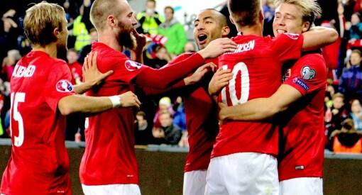 Fotballen setter stadig rekorder: 674.000 så Norge– Malta