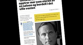 45 minutter var nok for AN til å vurdere og publisere sju sider fra Morten Strøksnes om Bodøs kameraderi