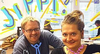 Vest-Telemark Blad får halv million kroner til prøveprosjekt for å nå nynorsk-ungdom på Snapchat