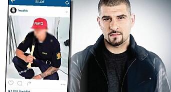 Leo Ajkic hyllet voldsdømt rapper som har vært på rømmen fra politiet