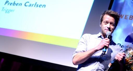 Mer Trigger-heder: ANFO kårer Preben Carlsen til «Årets foredragsholder»