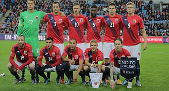 Ny rekord for TVNorge: Over én million så landskampen mellom Italia og Norge