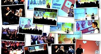 BILDESERIE: Fag, folk og god stemning på Mediekonferansen