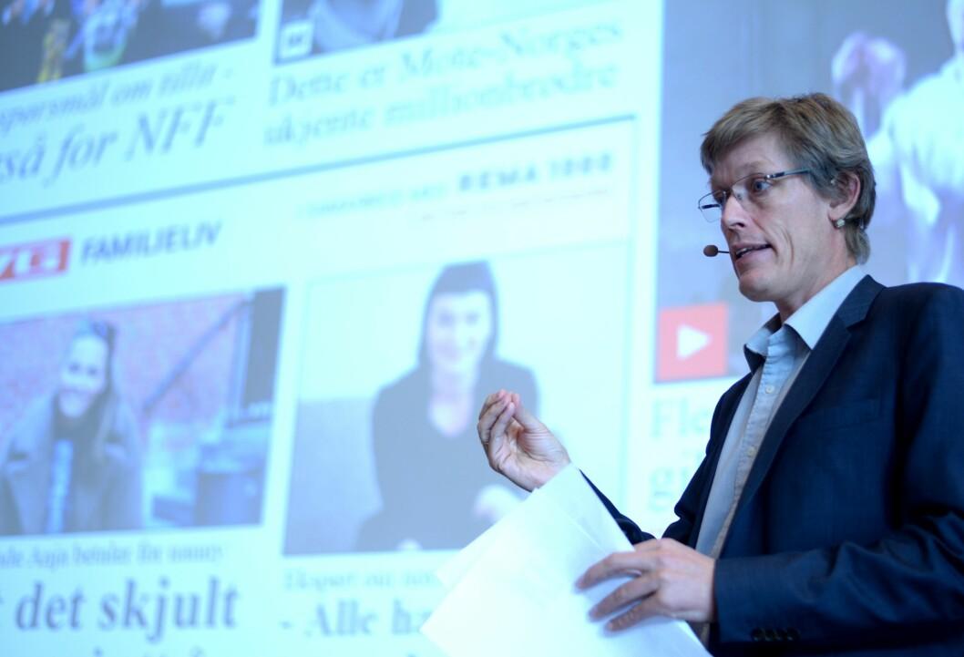 Jens Barland, førsteamanuensis i medieledelse ved NTNU.